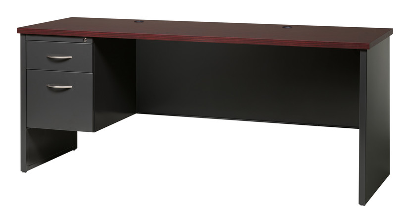 More about the '24D x 72W Left Hand Single Pedestal Credenza' product