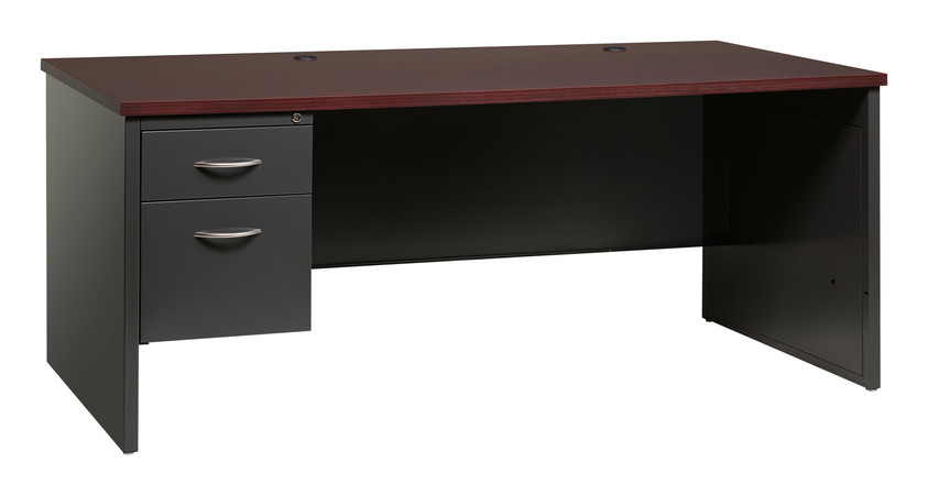 More about the '36Dx72W Left Hand Single Pedestal Desk' product