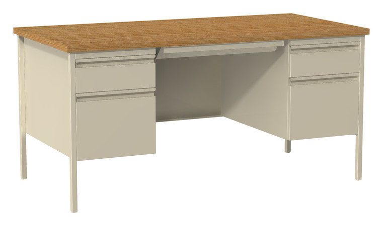 More about the '30Dx60W Double Pedestal Desk' product