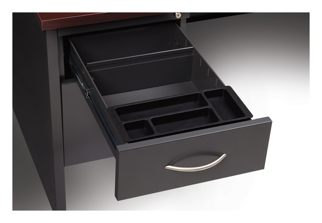 More about the '30Dx66W Left Hand Single Pedestal Desk' product