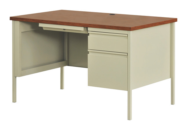 More about the '30Dx48W, Right Hand Single Pedestal Desk' product