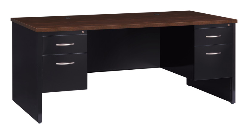 More about the '36Dx72W Double Pedestal Desk' product