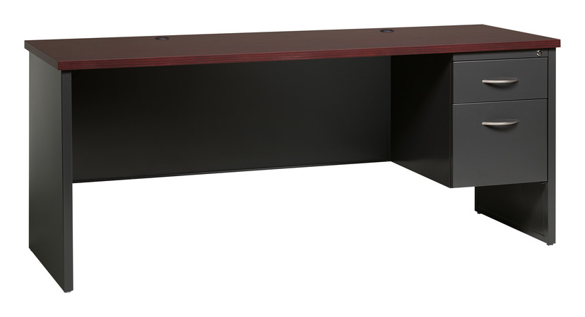 More about the '24D x 72W Right Hand Single Pedestal Credenza' product