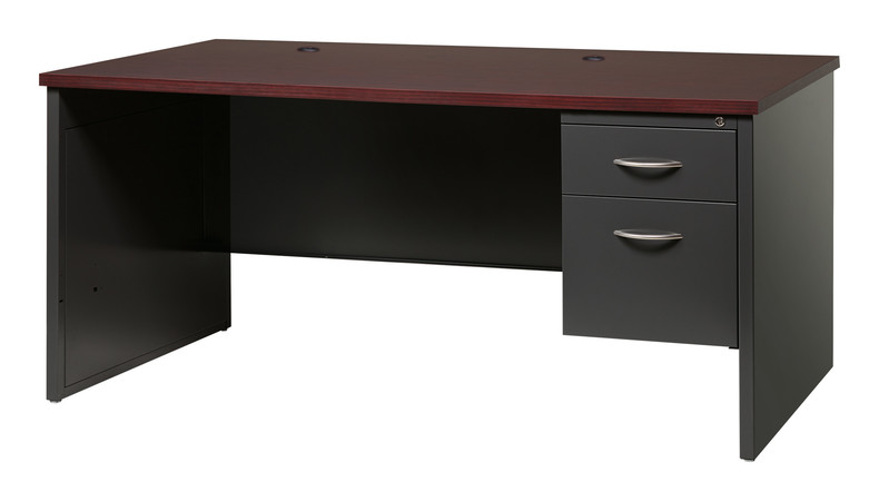 More about the '30Dx66W  Right Hand Single Pedestal Desk' product